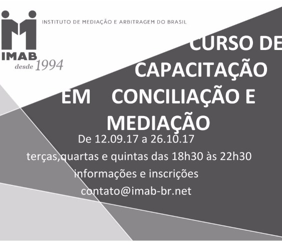 CURSO DE CAPACITAÇÃO  EM CONCILIAÇÃO E MEDIAÇÃO_00