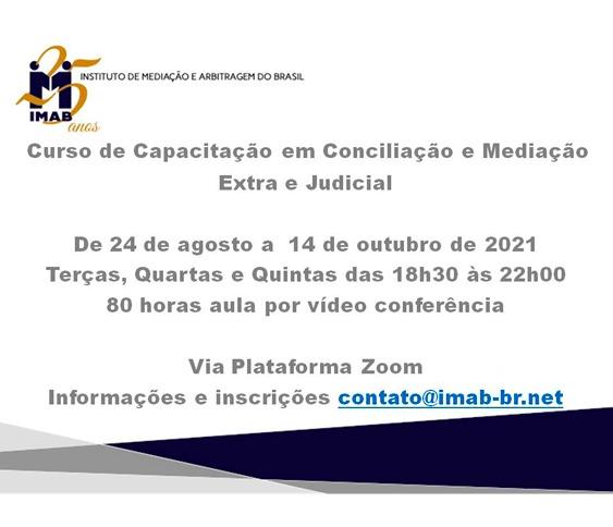 Curso de Capacitação em Conciliação e Mediação Extra e Judicial_00