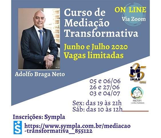 Curso de Mediação Transformativa - Online