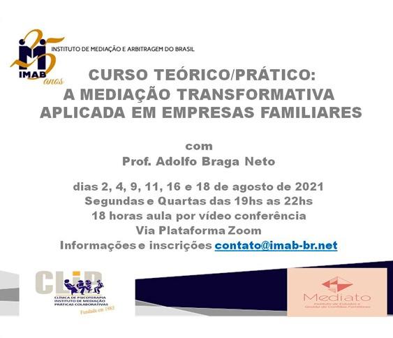 CURSO TEÓRICO/PRÁTICO: A MEDIAÇÃO TRANSFORMATIVA APLICADA EM EMPRESAS FAMILIARES_00