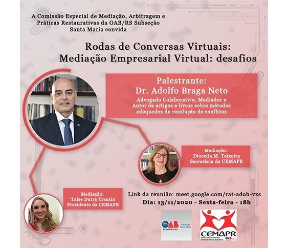 Live - Mediação Empresarial Virtual: Desafios_00
