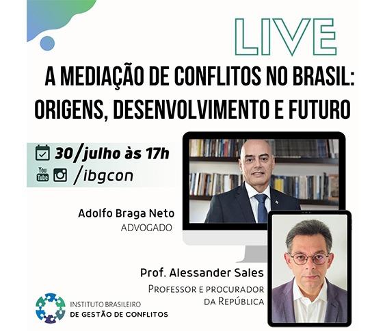 Live A Mediação de Conflitos no Brasil: Origens, Desenvolvimento e Futuro_00