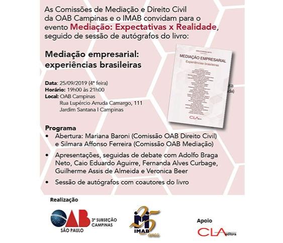 Mediação empresarial :experiências brasileiras_00