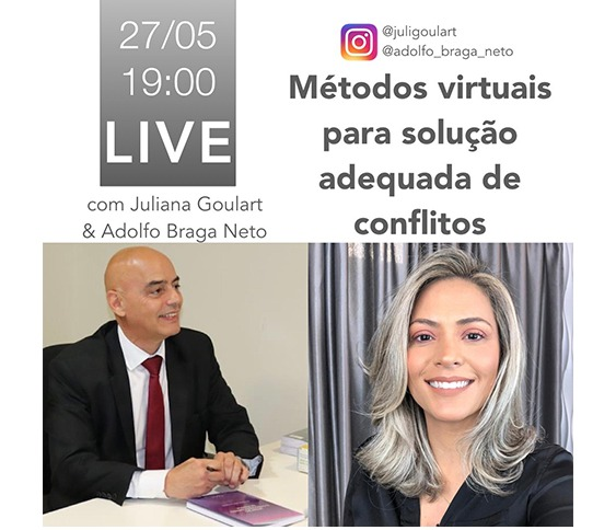 Métodos Virtuais para solução adequada de conflitos - LIVE