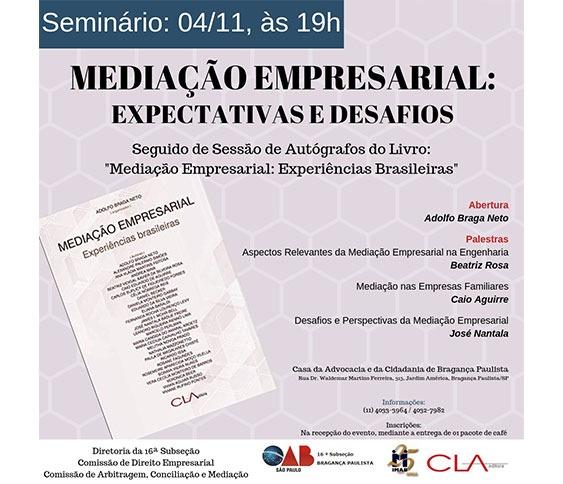 Seminário de Mediação Empresarial - Expectativas e Desafios_00