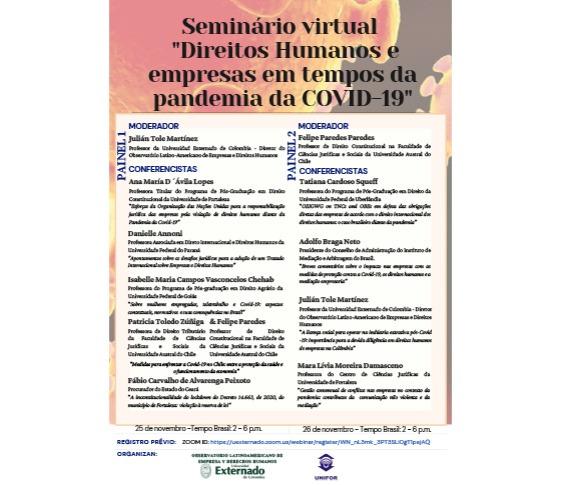 Seminário virtual