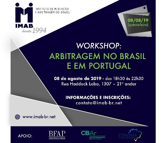 WORKSHOP: ARBITRAGEM NO BRASIL E EM PORTUGAL_00