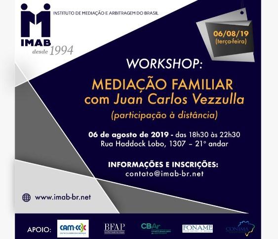 WORKSHOP: MEDIAÇÃO FAMILIAR com Juan Carlos Vezzulla_00